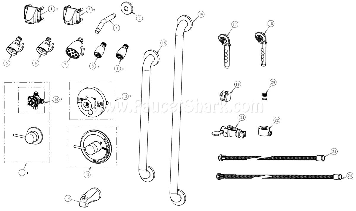 9444 also Speakman Repair Parts An7ApM PYdUv6i30vF4PLwv aq59qBZzenxEMyLO7bY additionally Moen furthermore Deltabathvalves likewise American Standard Colony Vi Tub Shower Valve Schematic. on shower head diverter stems
