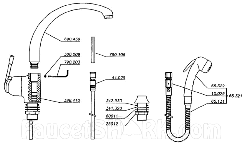Franke Ff 800 Replacement Parts
