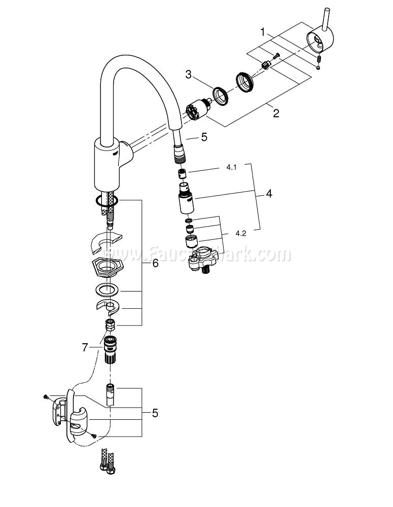 grohe 32665001 repair parts