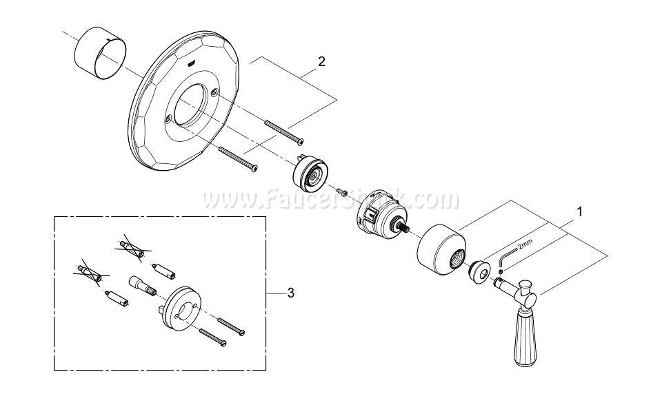 Grohe 19267EN0 Repair Parts