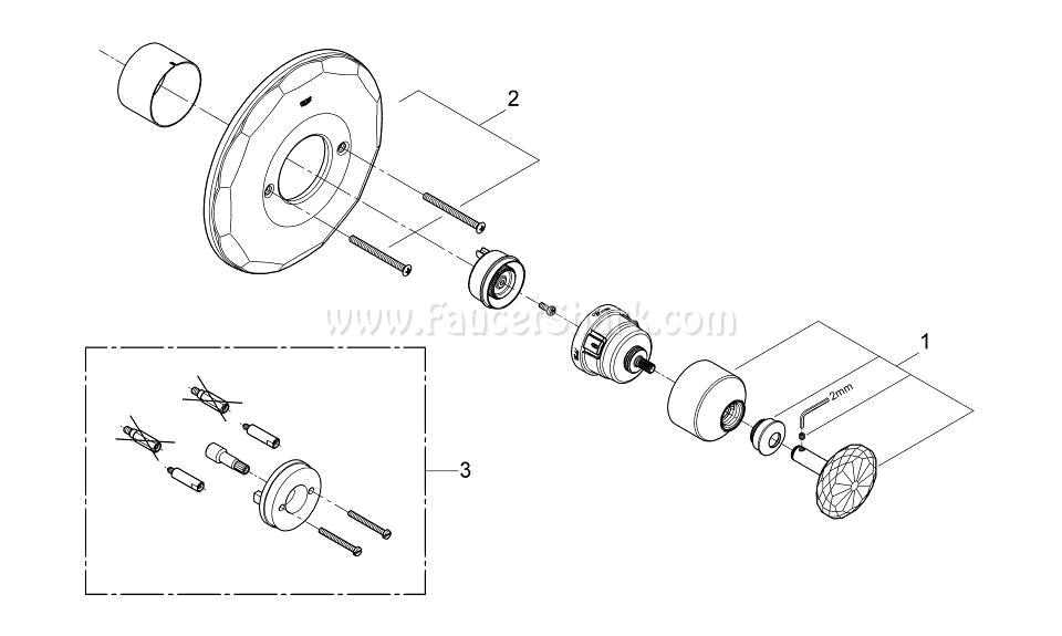 Grohe 19268VP0 Repair Parts
