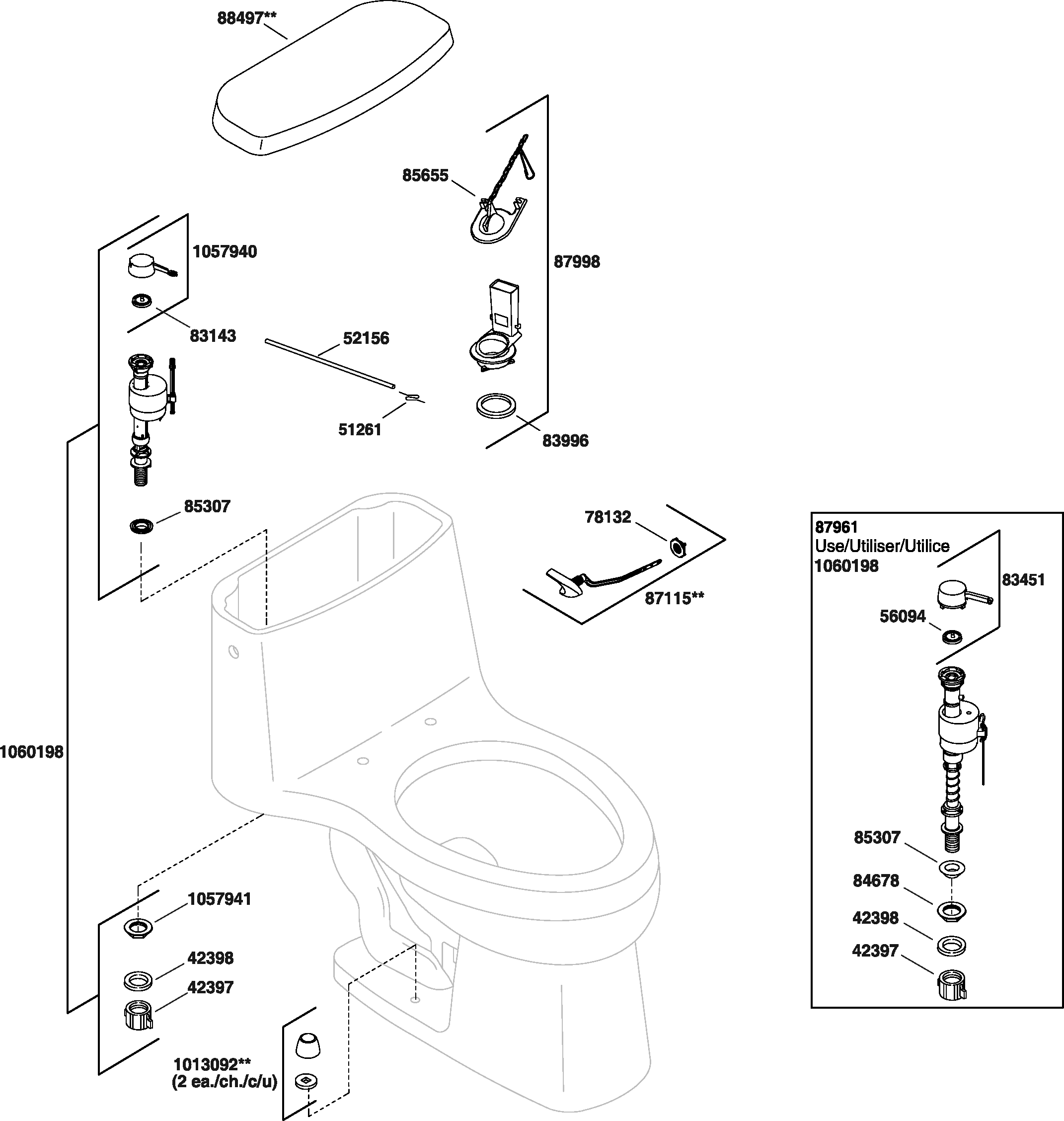 34 Kohler Shower Valve Parts Diagram