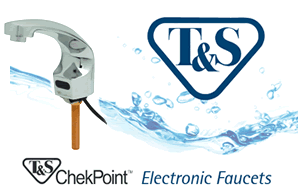 T&S Brass CheckPoint Sensor Faucets