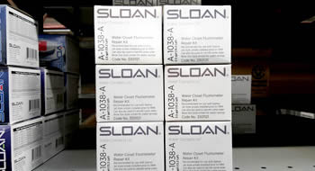 Faucet Shark offers the complete Sloan including complete valves and repair parts